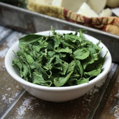 How to Dehydrate Spinach
