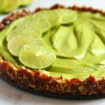 Raw No-Bake Key Lime Pie