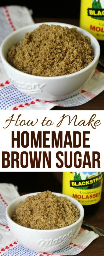How to Make Homemade Brown Sugar