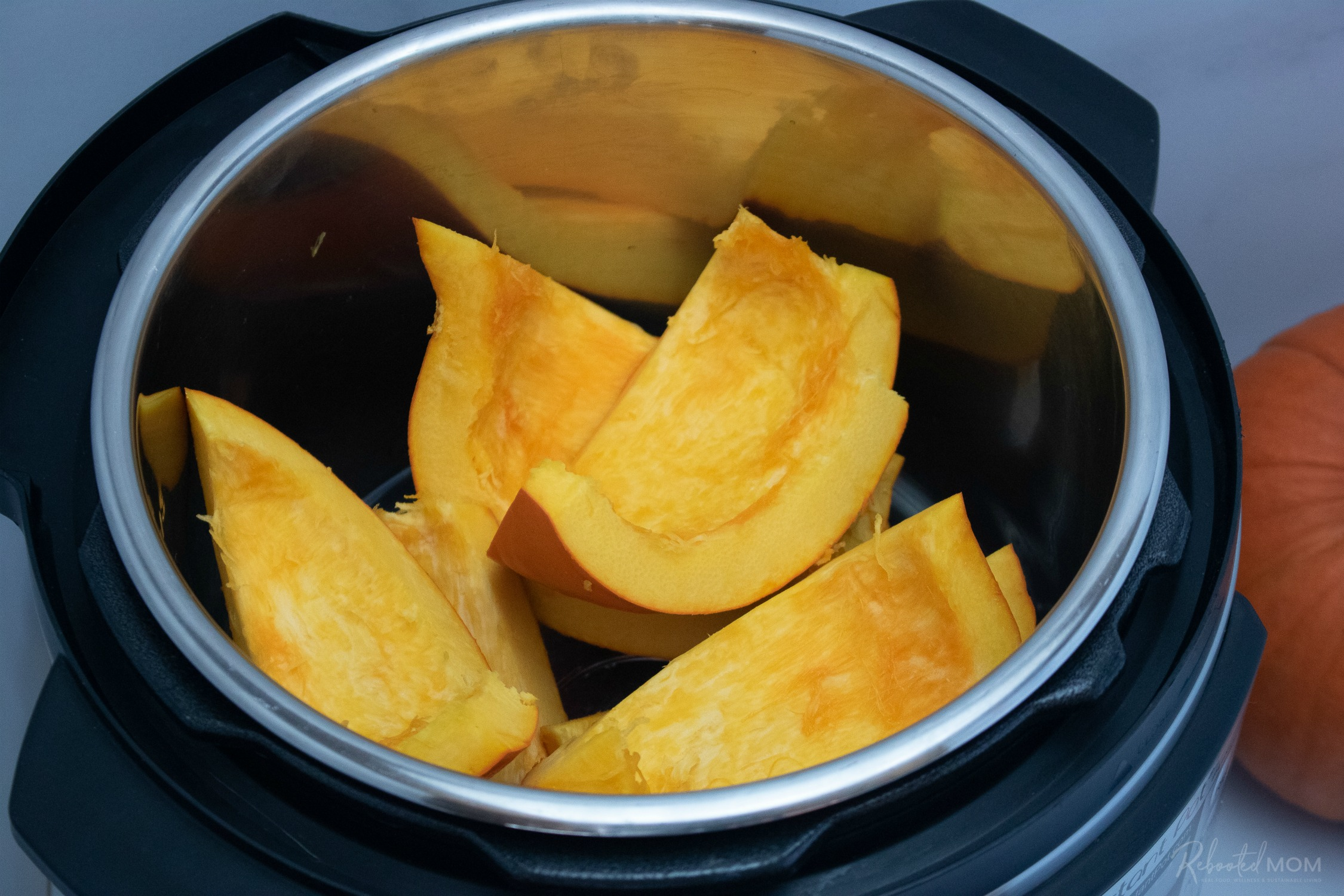 Pumpkin in the Instant Pot