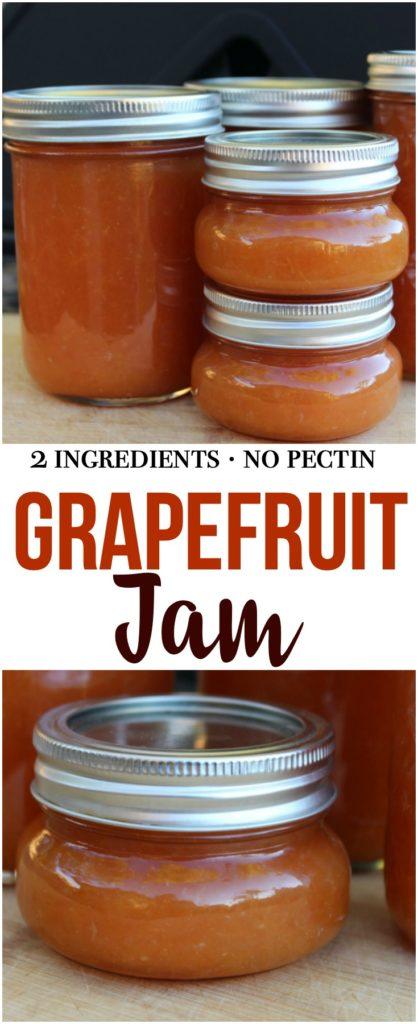 Grapefruit Jam