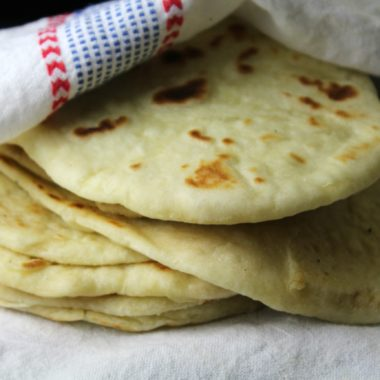 Foolproof Sourdough Naan