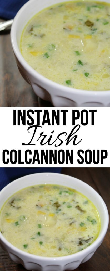 Irish Colcannon Soup
