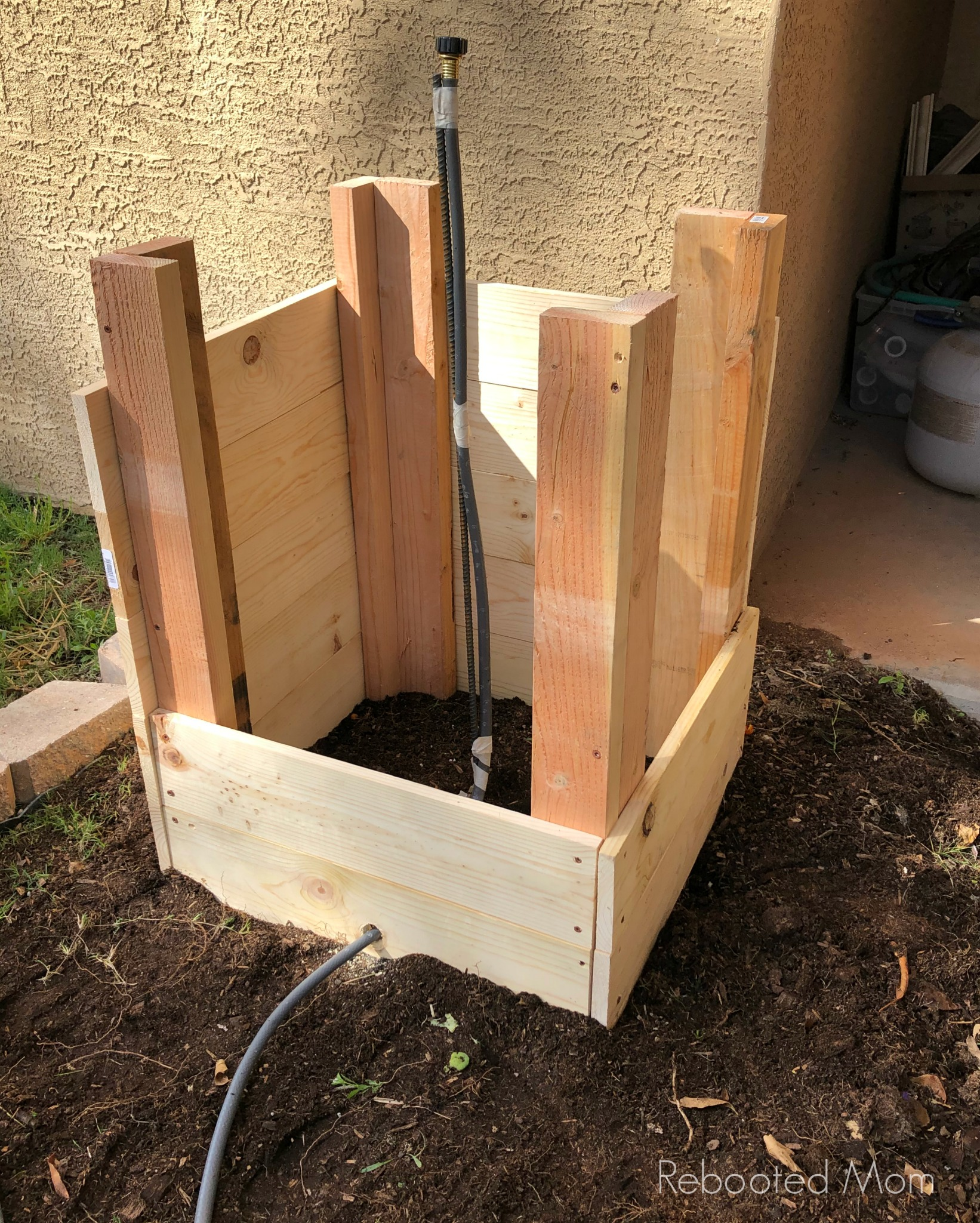 DIY - Build a Potato Grow Box