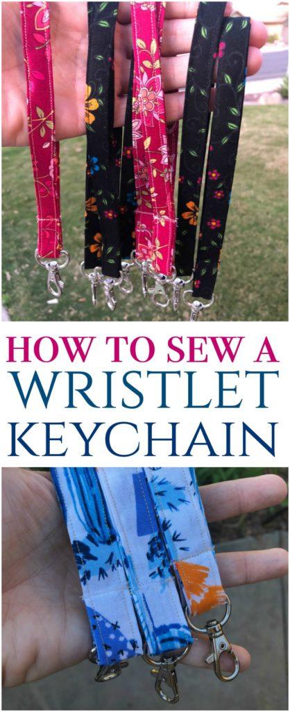 How to Sew a Wristlet Keychain