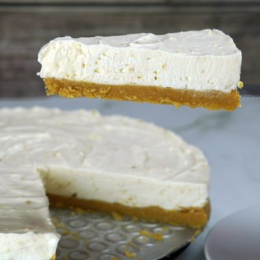 No Bake Mascarpone Cheesecake