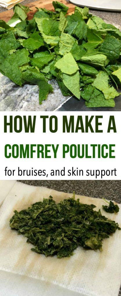 Comfrey Poultice