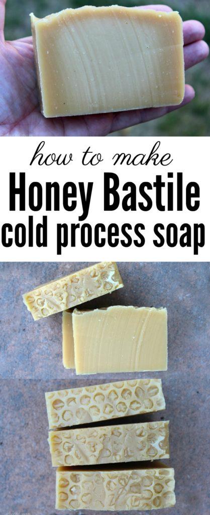 Honey Bastile Soap