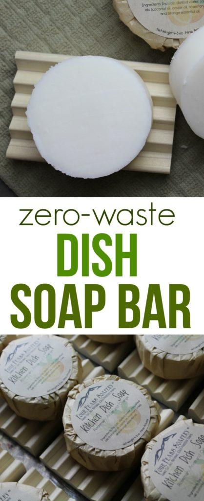 Solid Dish Soap Bar