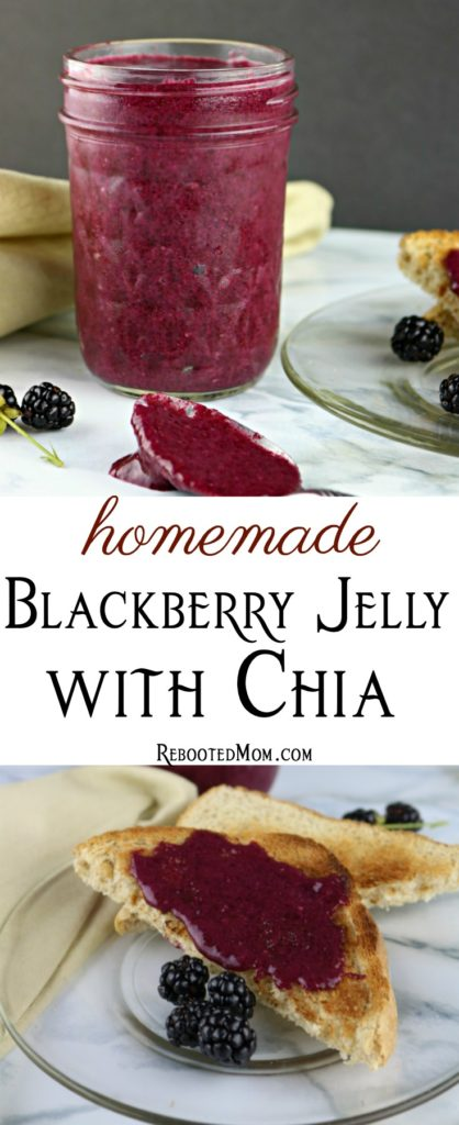 Blackberry Jelly with Chia