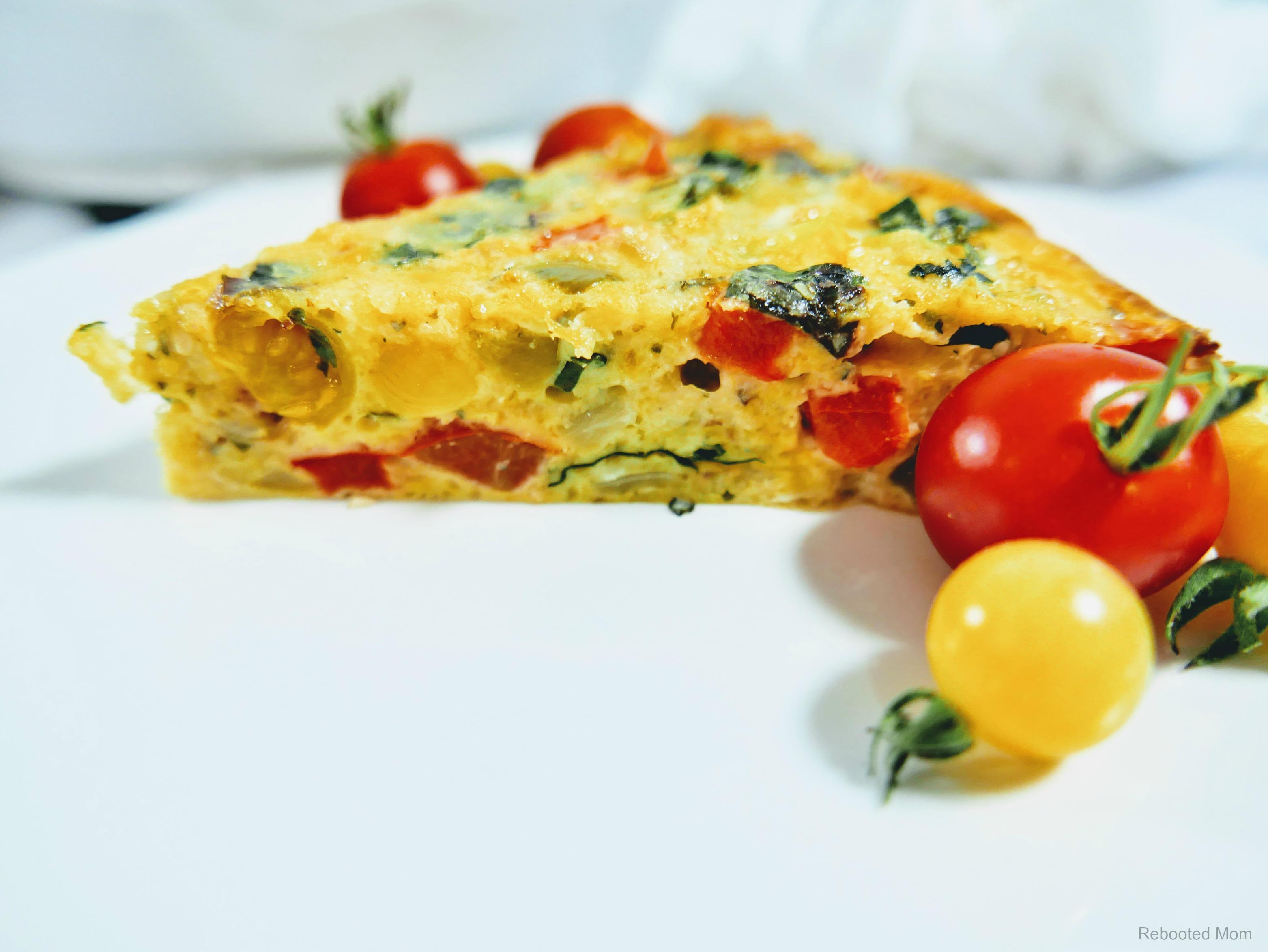 Loaded Vegetable Frittata