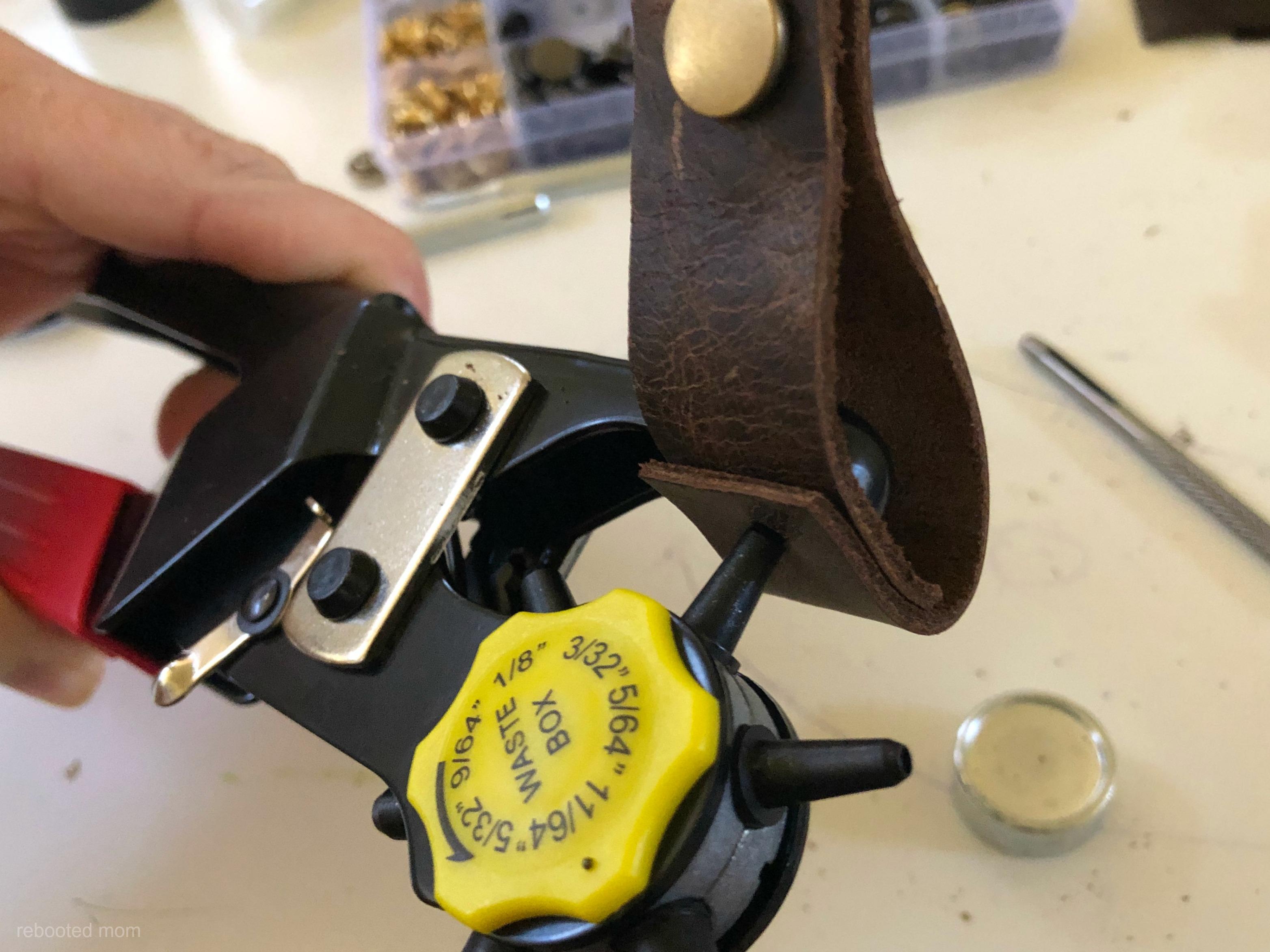 Leather Key Chain DIY