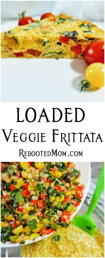 Loaded Veggie Frittata