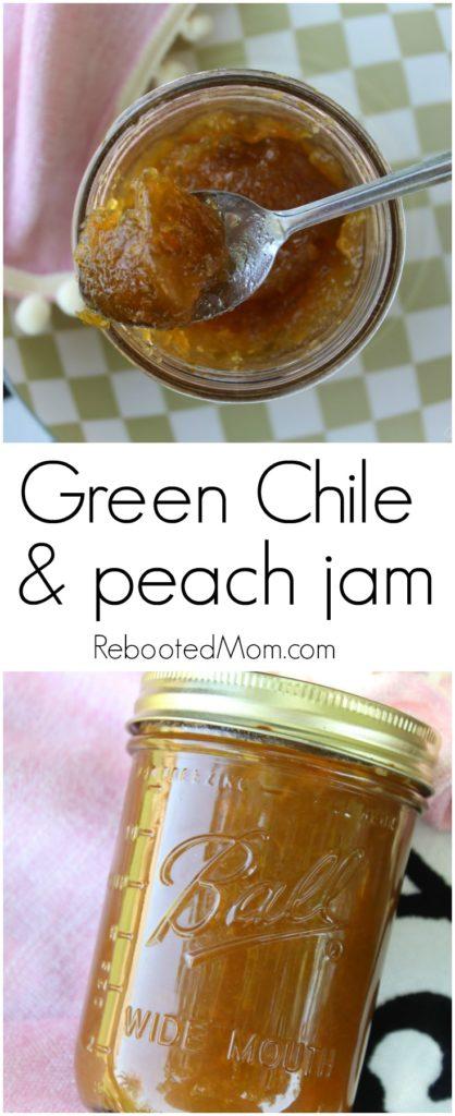 Geren Chile Peach Jam