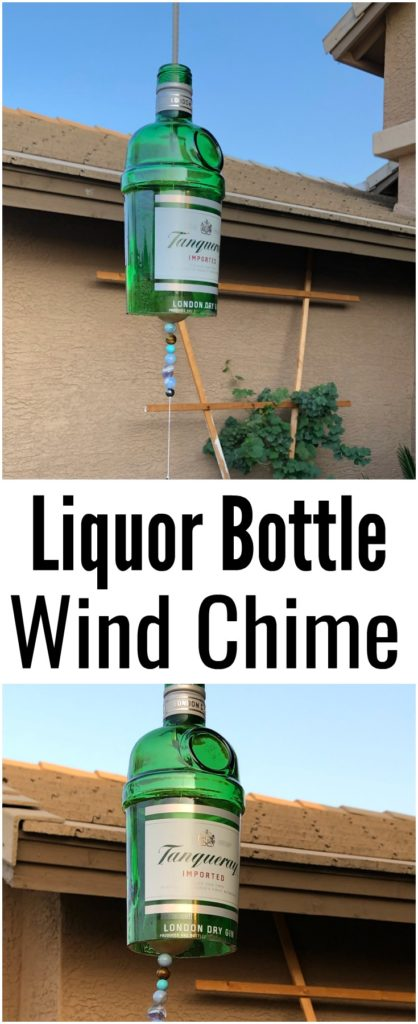 Liquor Bottle Wind Chime