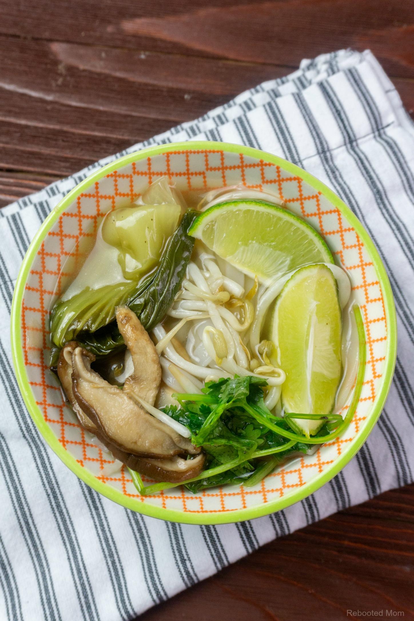 Instant Pot Vegetarian Pho