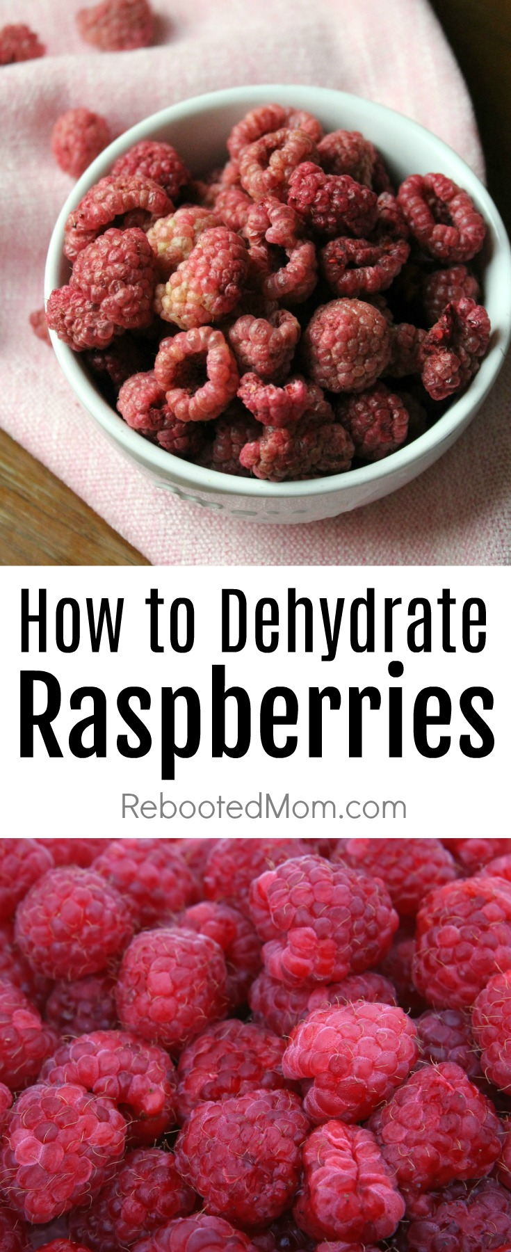 How to Dehydrate Raspberries