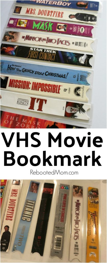 VHS Bookmarks