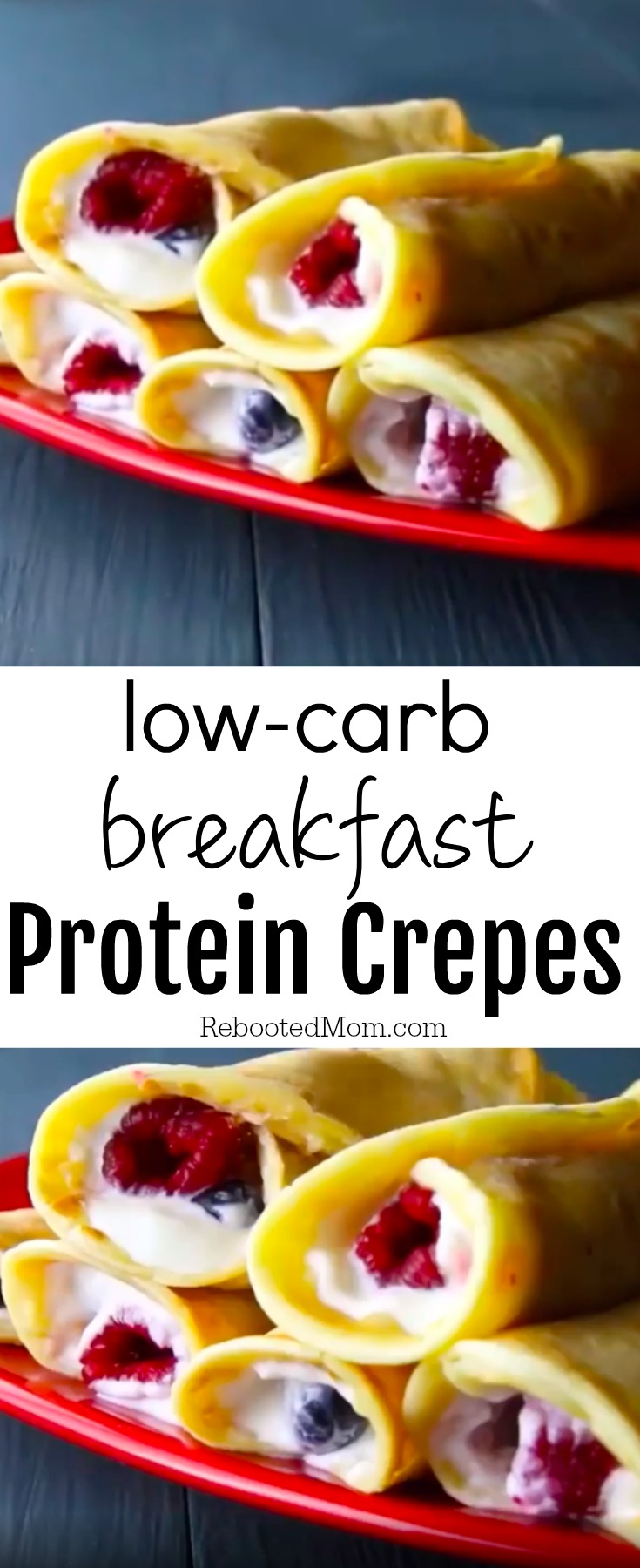 Low Carb Breakfast Protein Crepes