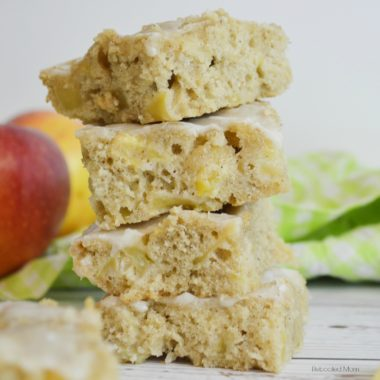 Maple Apple Blondies