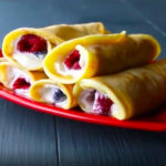 Breakfast Protein Crepes