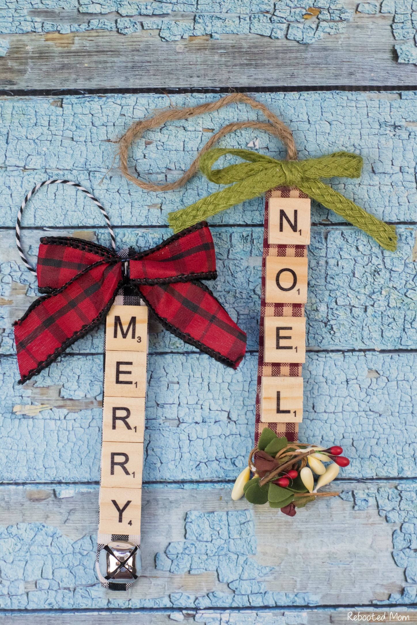 Scrabble Tile Ornament