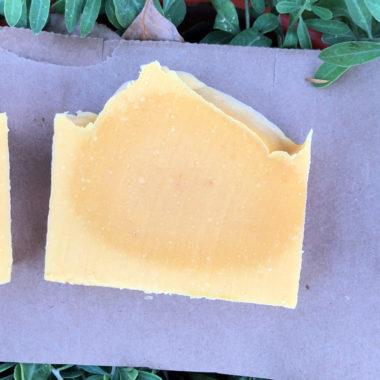 Handmade Carrot Soap