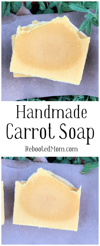 Handmade Carrot Soap