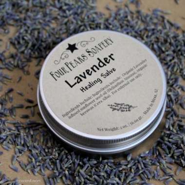 How to Make Soothing Lavender Salve