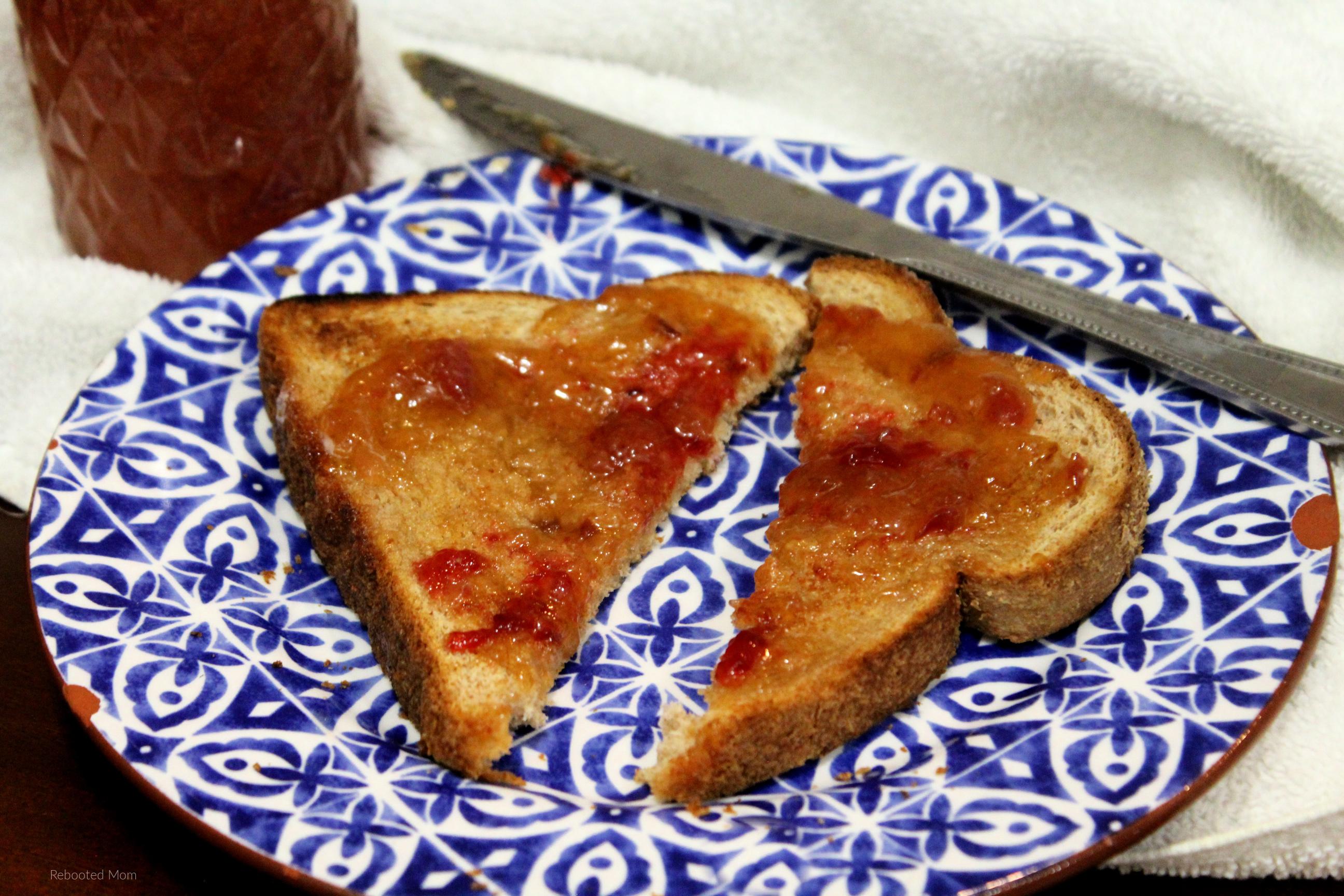 Small Batch Nectarine Jam